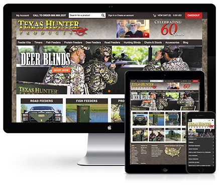 Texas Hunter Products Web Design
