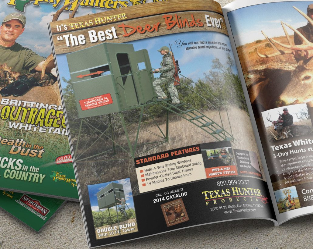 Texas Hunter Products Ad