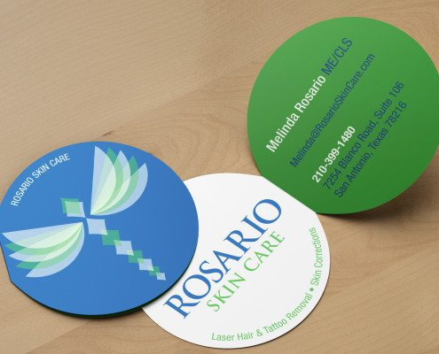Rosario Skin Care Business Cards