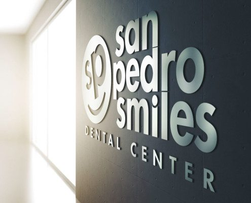 San Pedro Smiles Wall Sign