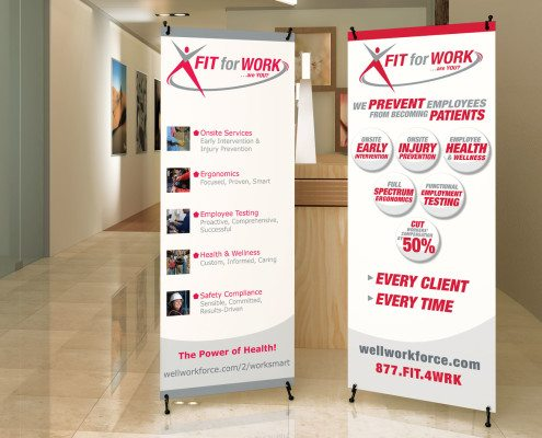 FIT for WORK  Banners Benson Design