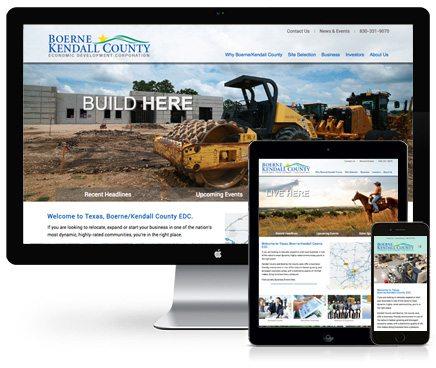 Benson Design BKCEDC Website Design