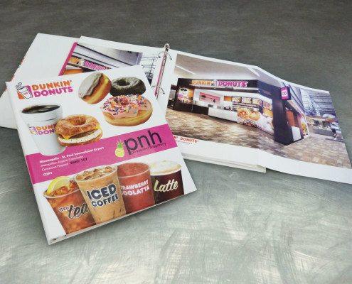 Dunkin Donuts Benson Design RFP