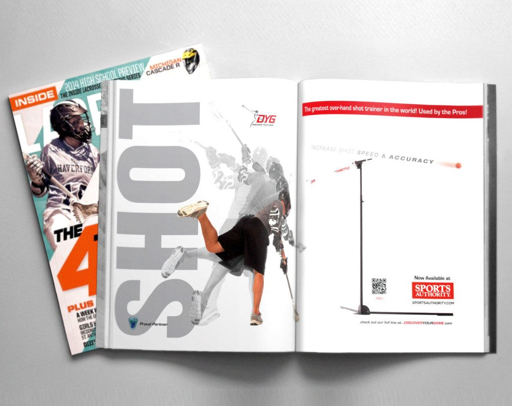 Discover Your Game Ad Benson Design