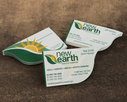 New Earth Business Cards
