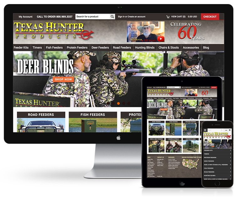 Texas Hunter Products Website