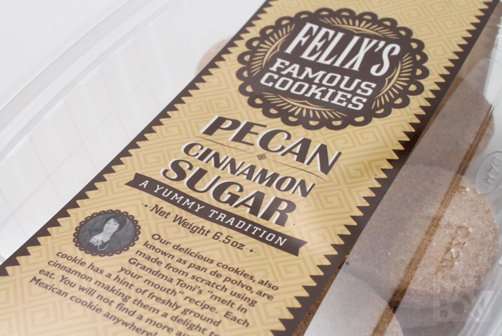 Felixs Famous Cookies Packaging