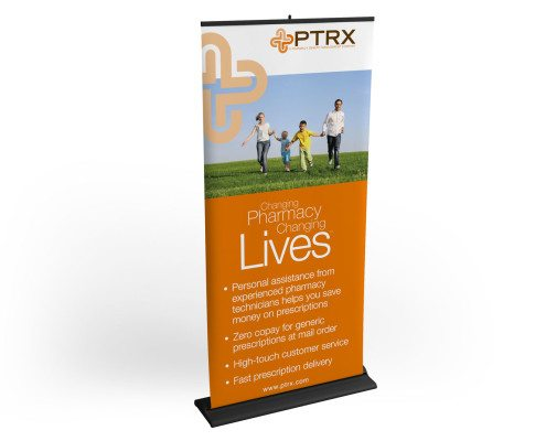 PTRX Banner Stand