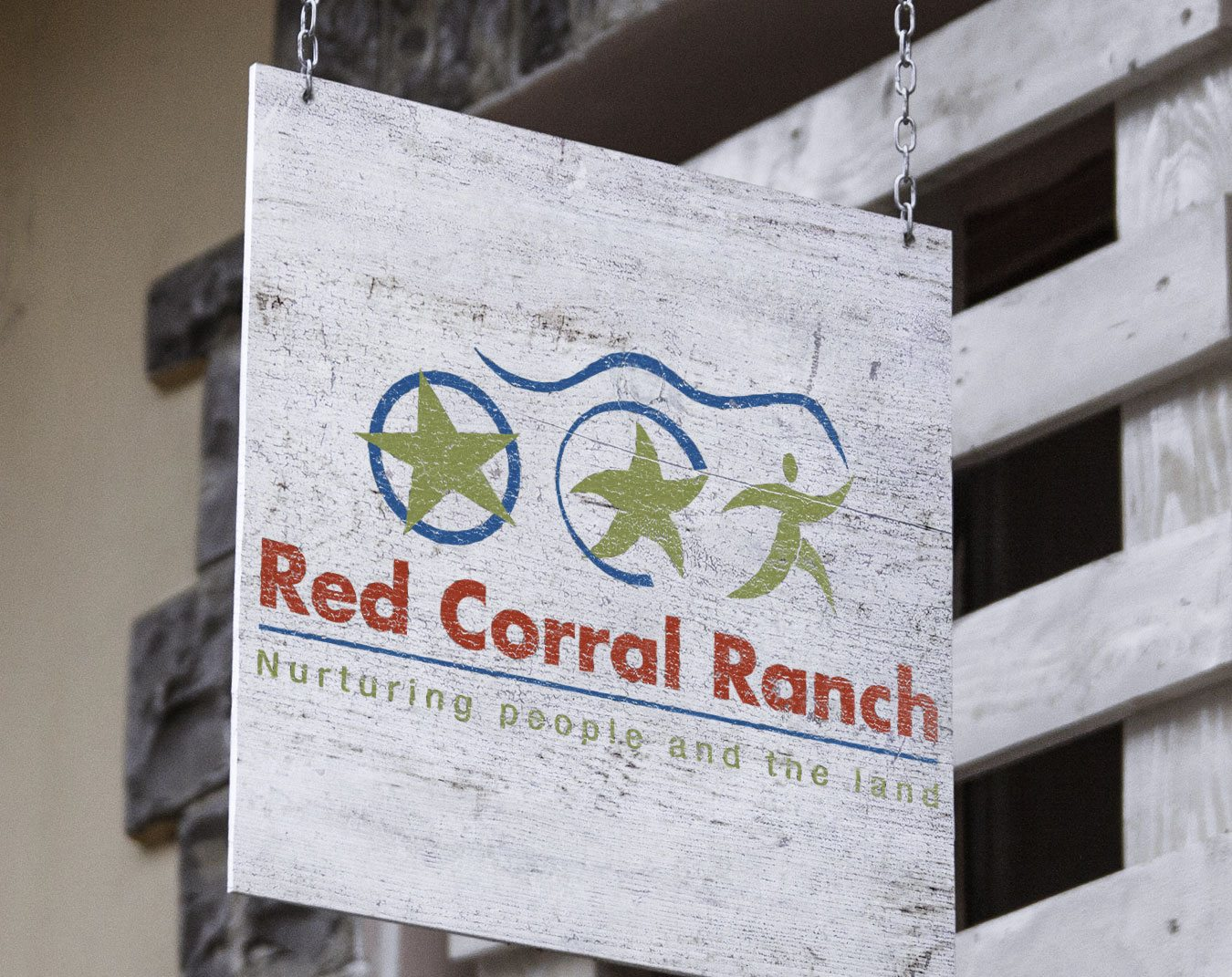 Red Corral Ranch Sign