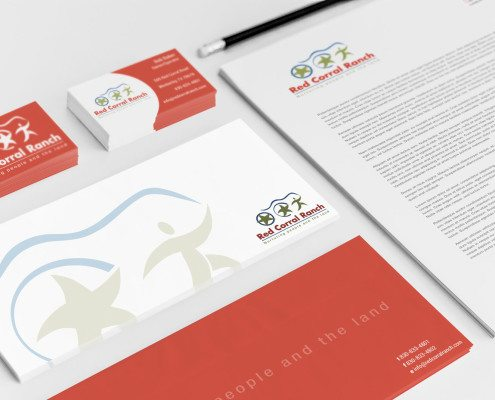Red Corral Ranch Stationery
